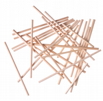 Wooden Lolly Sticks [8 sizes available]